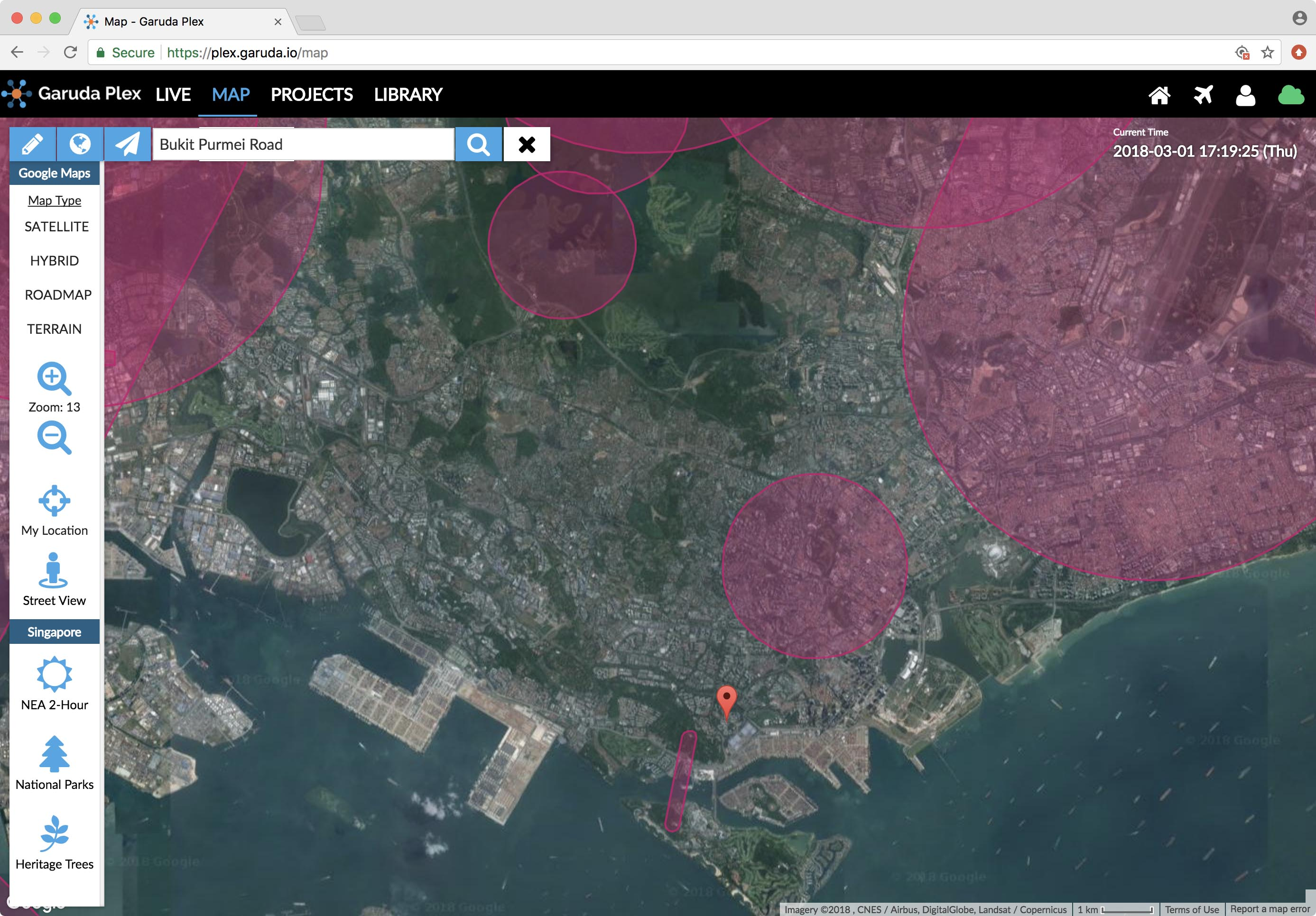 Where to fly drones in Singapore? (With Map) | Garuda Robotics